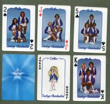 Pin -up  Collectable playing cards  Dallas Cowboys Cheerleaders, 1979